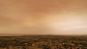 Εικόνες από τη Λήμνο θυμίζουν Blade Runner και δείχνουν το μέγεθος της καταστροφής