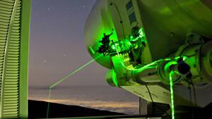 H NASA πέτυχε με laser τον καθρέπτη που είχαν τοποθετήσει στη Σελήνη
