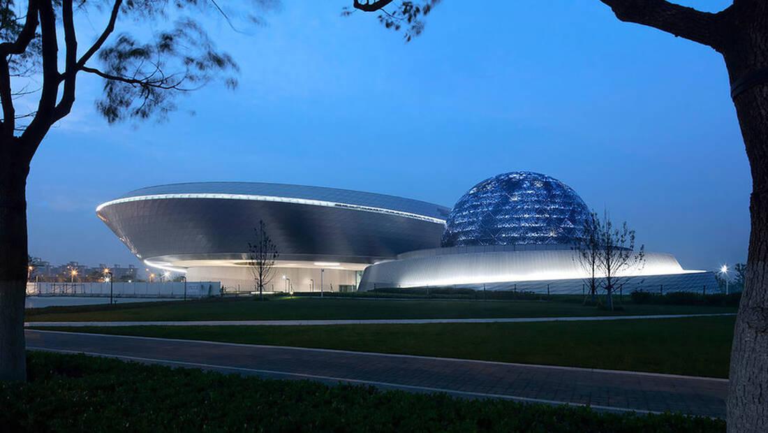 Το αστρονομικό μουσείο της Σανγκάης είναι ένα αρχιτεκτονικό αριστούργημα