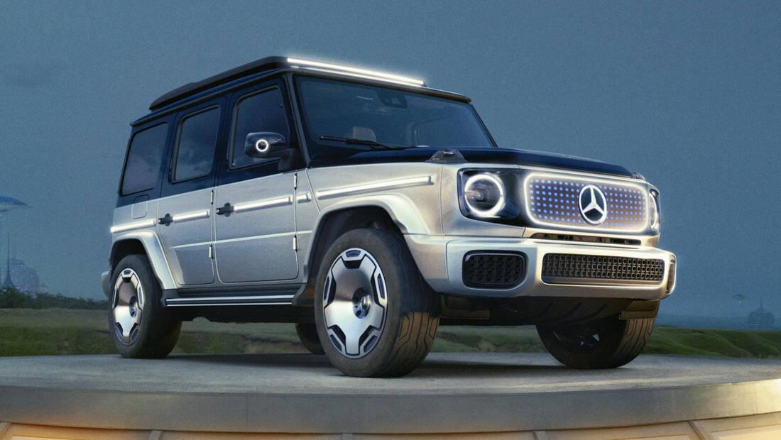 Η ηλεκτρική Mercedes G-Wagen σηματοδοτεί την οριστική νίκη της ηλεκτροκίνησης