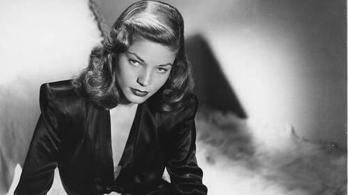 H Lauren Bacall ήταν η πιο γνήσια σκοτεινή θεότητα του film noir