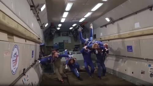 Έγιναν τα γυρίσματα της πρώτης ταινίας στο διάστημα