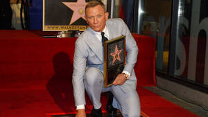 To δικό του αστέρι στο Walk of Fame απέκτησε Daniel Craig