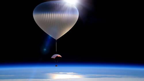 Αν θέλεις να κάνεις extreme διακοπές στο Διάστημα θα χρειαστείς 43.000 ευρώ
