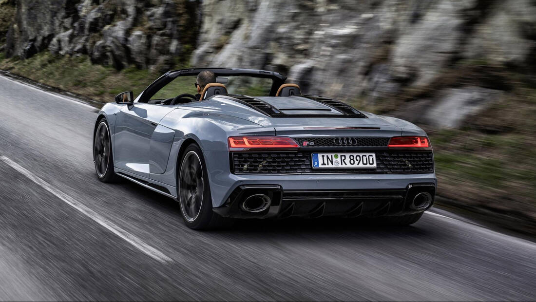 H Audi παρουσίασε ένα νέο πισωκίνητο R8 V10 γιατί μπορεί
