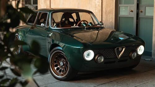 Μια κλασική Alfa με τον κινητήρα της σύγχρονης Giulia GTA ξυπνάει τις αισθήσεις
