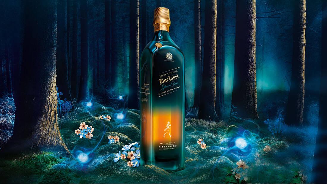 Το Johnnie Walker Blue Label Ghost and Rare μας αφηγείται την ιστορία ενός αποστακτηρίου