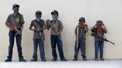 Στο Μεξικό τα καρτέλ ναρκωτικών στρατολογούν πλέον παιδιά μέσω video games